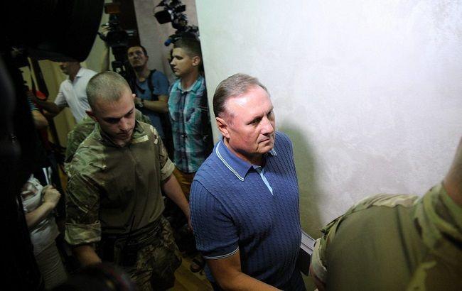 Фото: Александр Ефремов в суде (Виталий Носач, РБК-Украина)