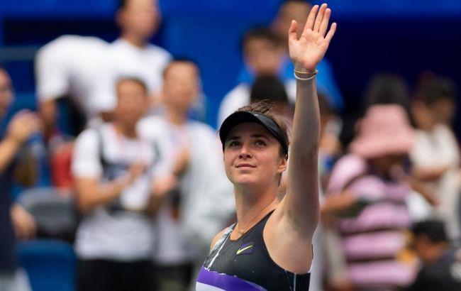 Свитолина вышла в четвертьфинал турнира в Пекине