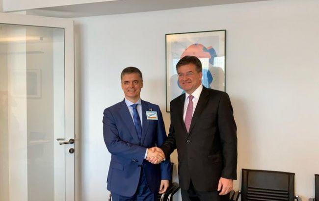 Пристайко и председатель ОБСЕ обсудили усиление работы ТКГ