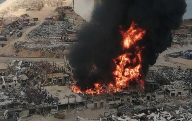 Пожар в Бейруте: президент Ливана не исключает поджога
