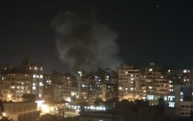 В Бейруте снова произошел сильный взрыв