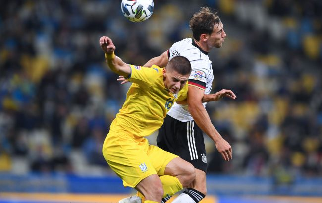 Украина - Германия: онлайн-трансляция матча Лиги наций (счет 1:2)