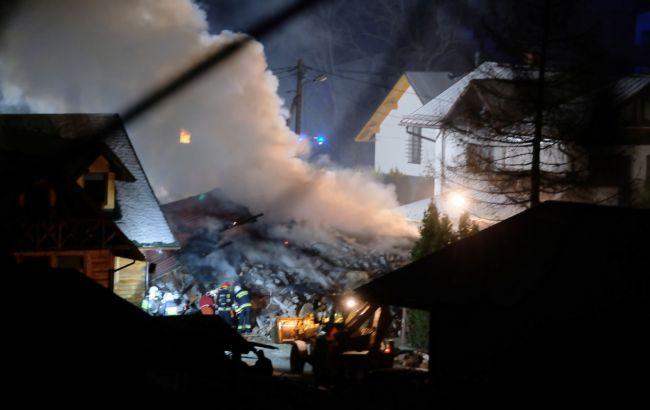На горнолыжном курорте в Польше прогремел взрыв