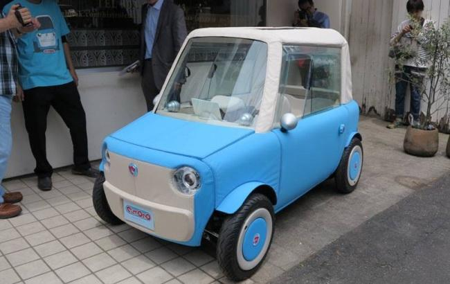 В Японии разработали миниатюрный электромобиль с «игрушечным» кузовом