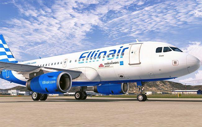 Ellinair будет летать с Киева по четырем греческим направлениям