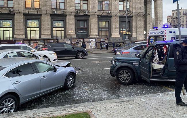 Смертельное ДТП на Майдане: водитель задержан