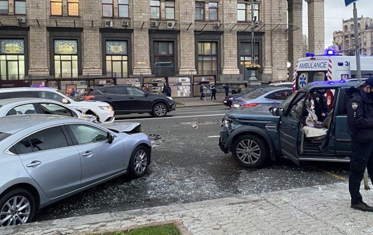 Смертельное ДТП на Майдане: водителю сообщили о подозрении