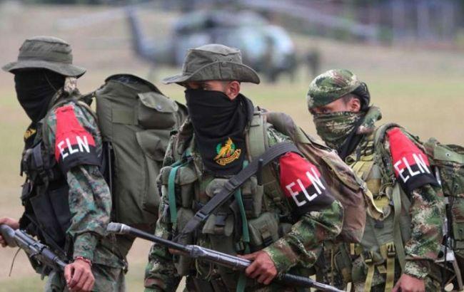Фото: боевики группировки ELN