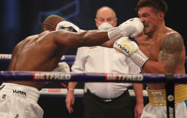 Усик одержал победу во втором своем бою в супертяжах