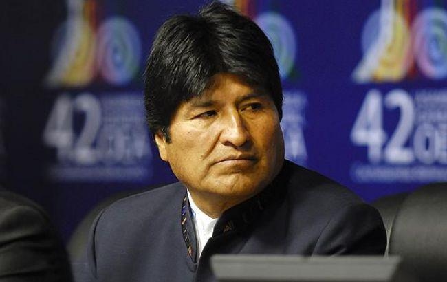 Фото: президент Боливии Эво Моралес (flickr.com-oasoea)