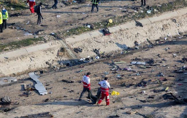 Опубликован предварительный список жертв авиакатастрофы в Иране