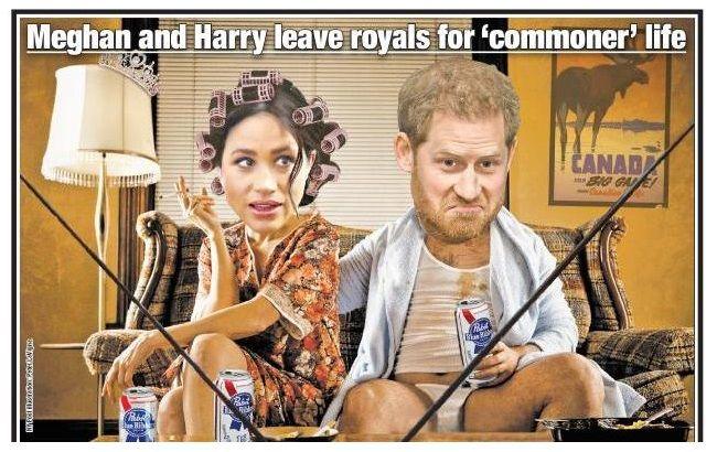 """#Megxit: Меган Маркл и принц Гарри """"обросли"""" смешными мемами по поводу ухода из королевской семьи"""