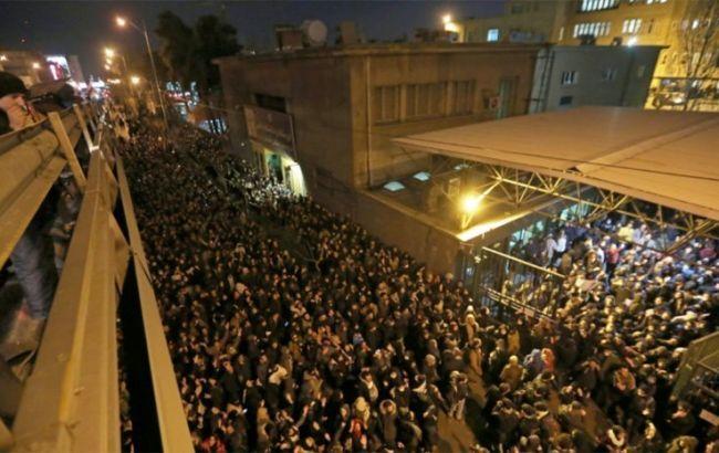 В Иране задержали 30 участников протестов