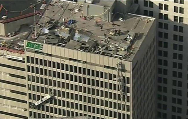 В Балтиморе произошел взрыв, десять пострадавших