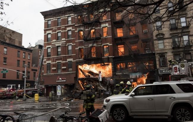 Фото: взрыв в Нью-Йорке