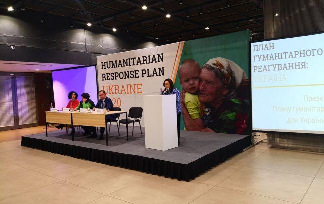 ООН представила гуманитарный план для Донбасса на 160 млн долларов