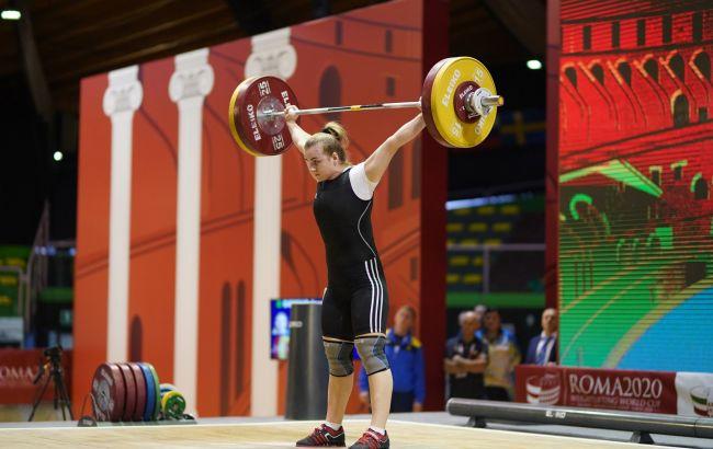 Украинская тяжелоатлетка Деха победила на Кубке мира в Риме