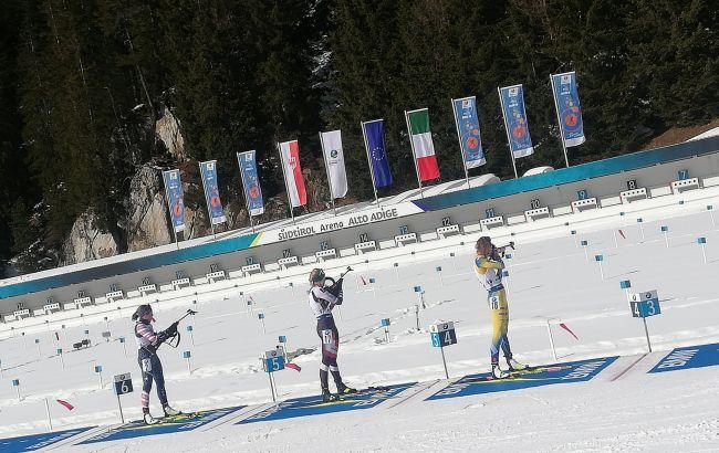 Две украинские биатлонистки попали в топ-20 гонки преследования на ЧМ
