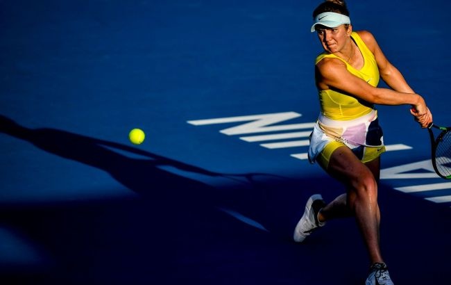Свитолина вышла в четвертьфинал турнира WTA в Хуахине