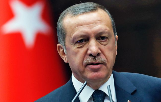 Фото: президент Туреччини Реджеп Тайіп Ердоган
