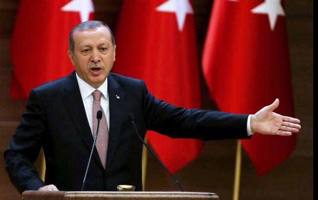 Эрдоган обвинил Евросоюз в ограничении демократии и свободы