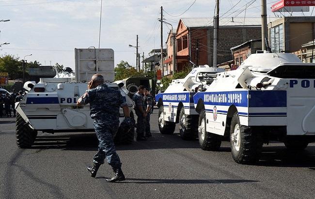 Фото: перестрілка в Єревані