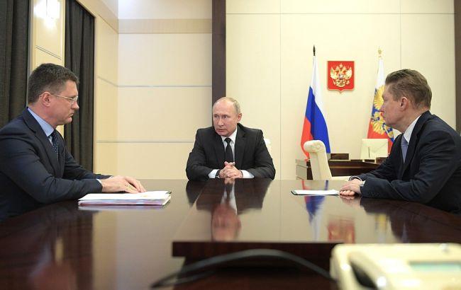 Путін говорив з Зеленським в основному про газ