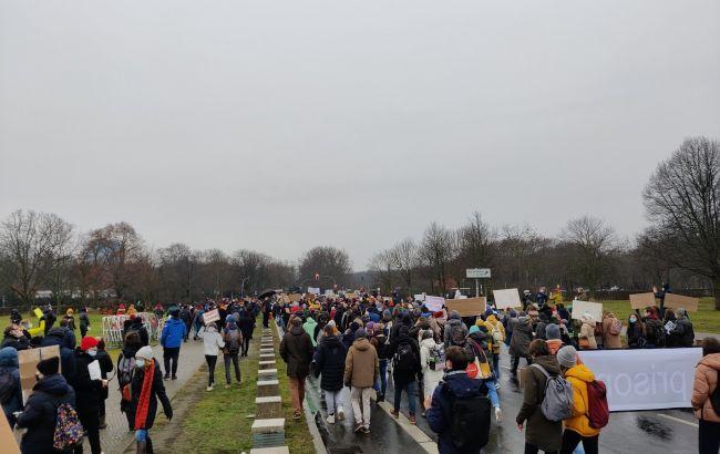 В Берлине прошел масштабный митинг в поддержку Навального