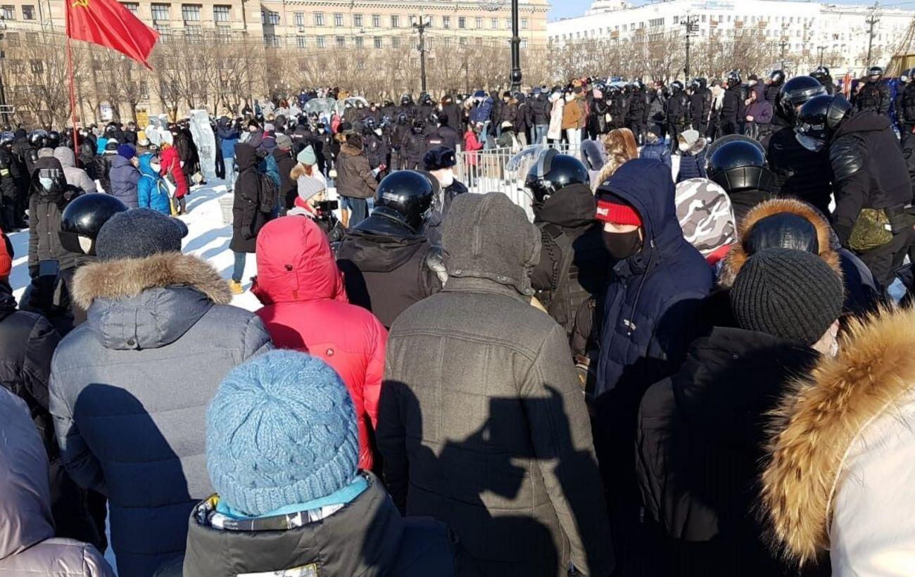 В России начались акции в поддержку Навального, уже есть задержанные