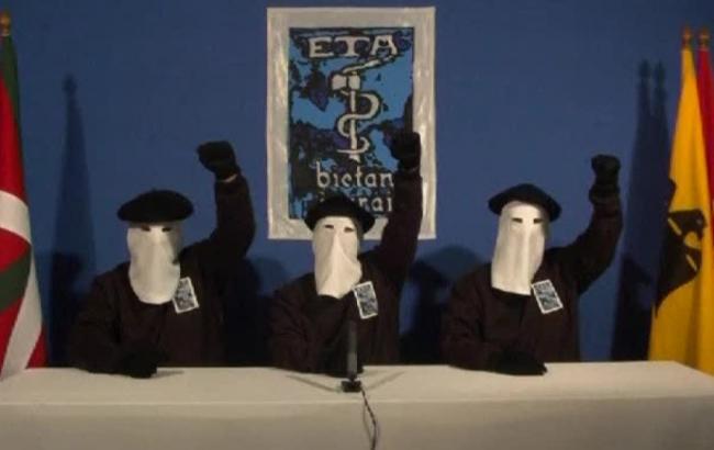 Баскские сепаратисты ETA официально начали процедуру разоружения