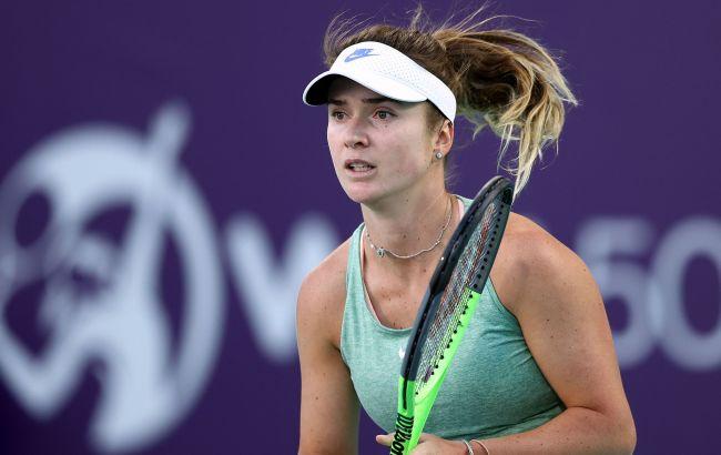 Свитолина с уверенной победы стартовала на турнире в Мельбурне