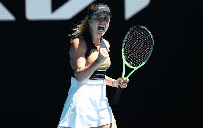 Світоліна оформила перемогу в першому колі Australian Open