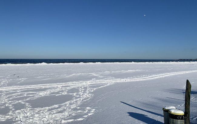 Морозы в Европе: впервые за много лет замерзло Балтийское море