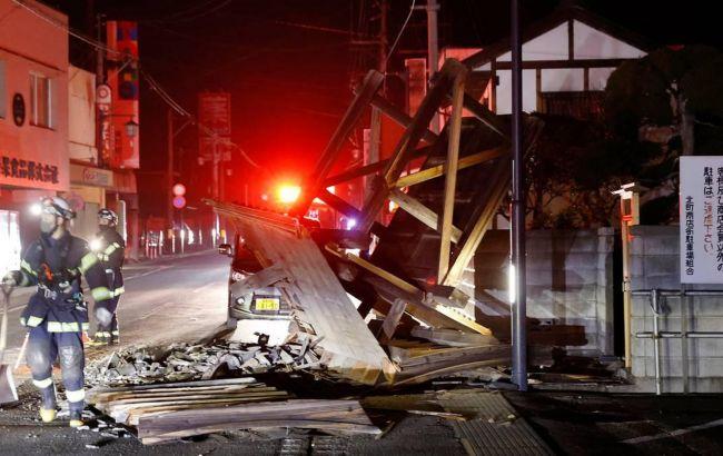 Кількість постраждалих у результаті землетрусу в Японії перевищила 100 осіб