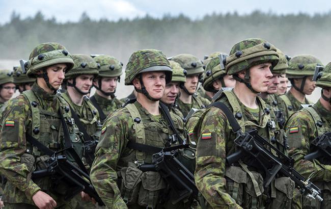 Українські військові візьмуть участь у навчаннях НАТО в Литві
