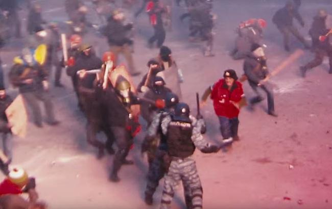 В Інтернеті опубліковано трейлер нового фільму про Майдан