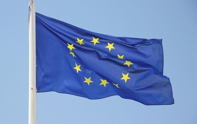Порошенко показал в Мюнхене простреленный в АТО флаг Евросоюза