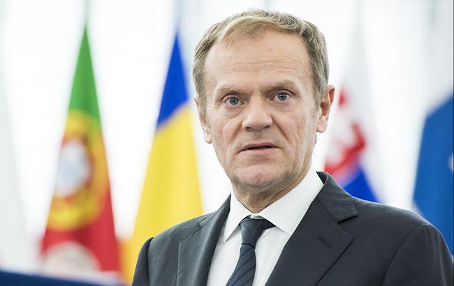 ЄС не співпрацюватиме з Британією щодо Brexit без угоди, - Туск
