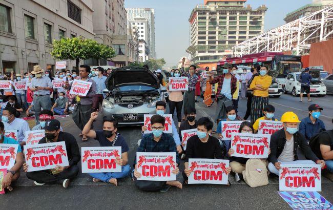 Військовий переворот в М'янмі: мільйони людей закликали вийти на протест 17 лютого