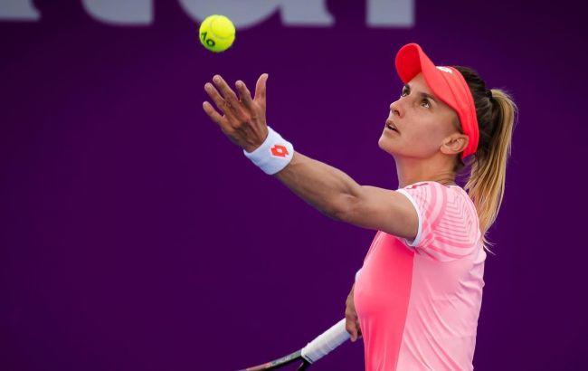 Две украинки вылетели в первом раунде престижного теннисного турнира в Дубае