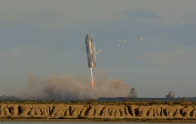 Маск объяснил, почему его корабль Starship взорвался после удачной посадки