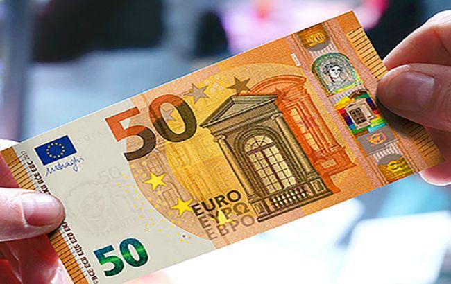 Названы самые популярные у фальшивомонетчиков банкноты евро