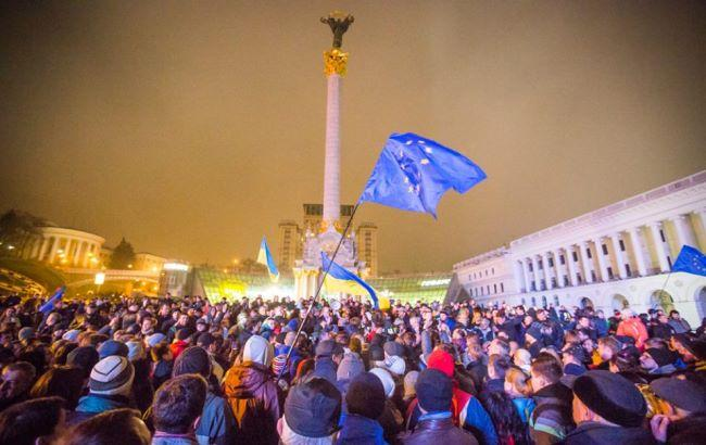 Фото: В сети вспоминают начало Революции достоинства (maidan.org.ua)