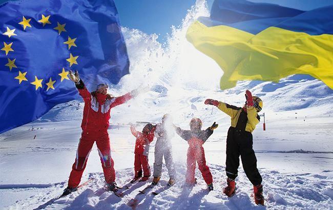 Горнолыжный туризм из Украины в ЕС - одно из перспективных направлений в случае отмены виз