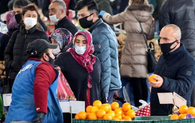 В Турции коронавирус выявили у более 100 тыс. человек