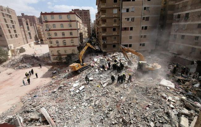 Обвалення будинку в Каїрі: кількість жертв досягла 18