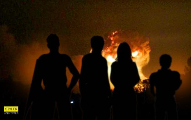 В сети обсуждают взрывы под Винницей