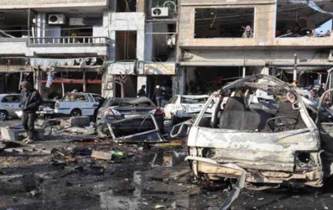 Фото: в результате двух терактов в сирийском Хомсе погибли 14 человек