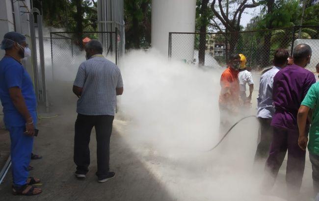 В Індії померли понад 20 пацієнтів на ШВЛ через витік кисню