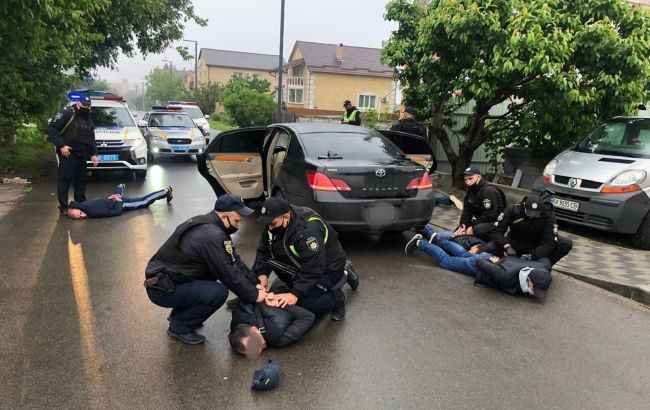 Стрельба и стычки: в Броварах провели массовые задержания
